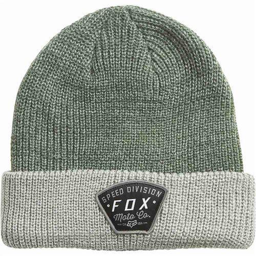 Fox Czapka zimowa - sno cat roll beanie heather fatigue (228) rozmiar: os