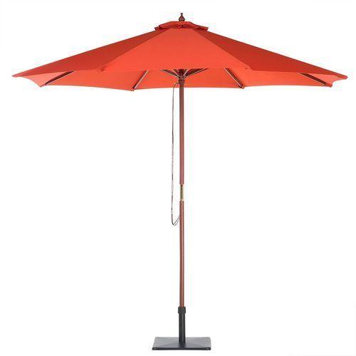 Beliani Parasol ogrodowy Ø270 cm ceglasty toscana ii