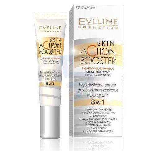 expert c serum przeciwzmarszczkowe do okolic oczu (concetrated eye and eyelid serum-mask, vitamin c) 15 ml marki Eveline cosmetics