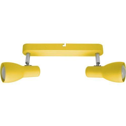 Candellux Listwa oprawa lampa sufitowa picardo 2x40w e14 musztardowy 92-52407