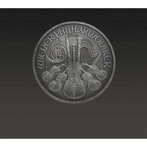 Münze Österreich Wiedeńscy filharmonicy 1 uncja srebra oksydowana