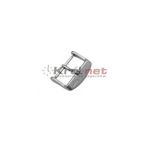 Sprzączka / klamerka stalowa - 16, 18, 20, 22 mm, matowa marki Bros