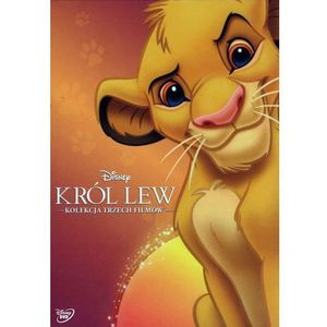 Galapagos Król lew pakiet 3 filmów (3 dvd) (król lew, król lew ii: czas simby, król lew 3: hakuna matata) (płyta dvd)