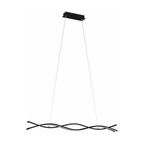 Eglo lasana 3 99317 lampa wisząca zwis 1x36w led czarna/biała (9002759993177)