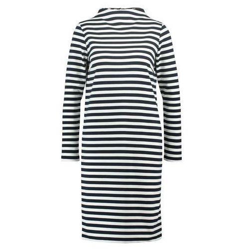 vifaunas sukienka z dżerseju total eclipse/snow white, Vila, 34-42