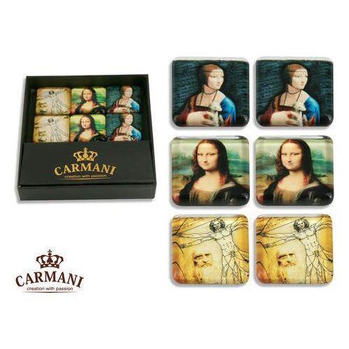 Komplet 6 magnesików -L.Da Vinci - malarstwo