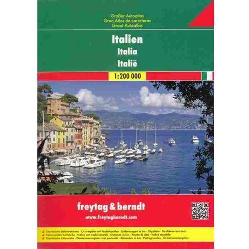 Włochy. Atlas samochodowy 1:200 000 (366 str.)