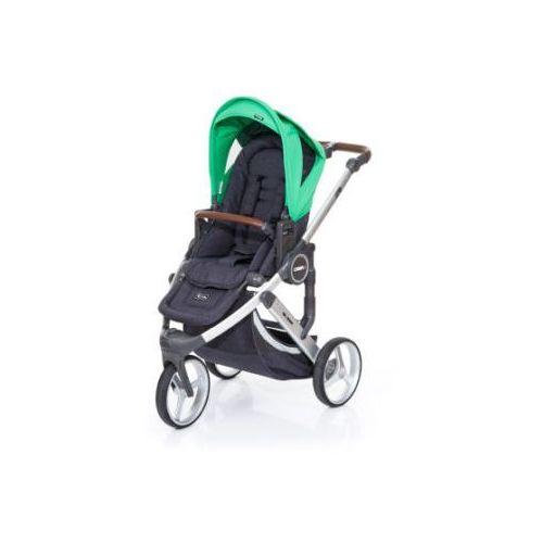 Abc design wózek dziecięcy cobra plus street-grass, stelaż silver / siedzisko street