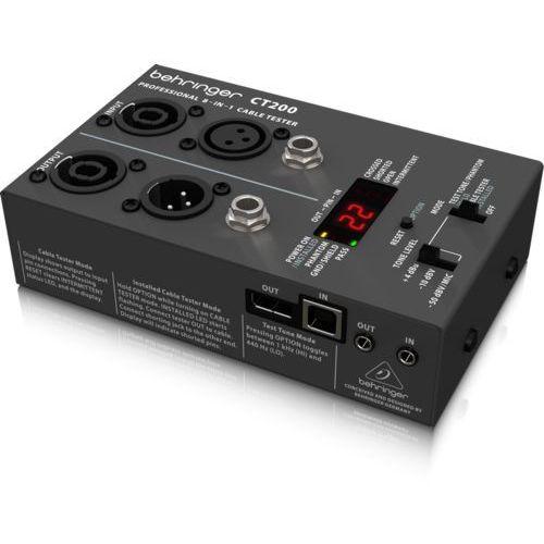 BEHRINGER CT200 - mikroprocesorowy tester kabli z kategorii Kable audio