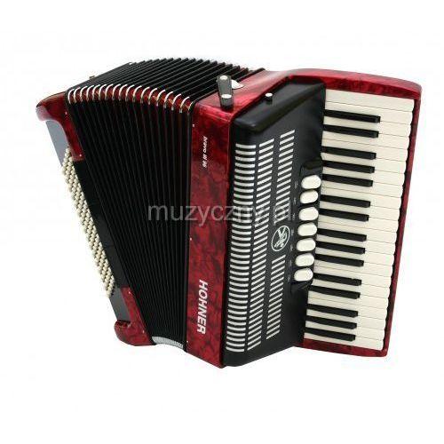 Hohner Bravo III 96 akordeon (czerwony)