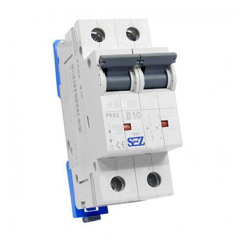 B10a 2p 10ka wyłącznik nadprądowy bezpiecznik typ s eska pr62 sez 0395 marki Pce