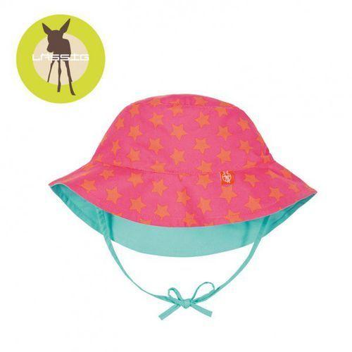 kapelusz dwustronny peach stars uv 50+ marki Lassig