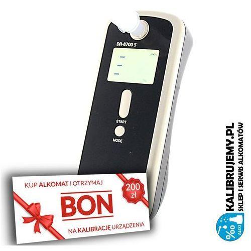 Alcofind ✭✭✭ alkomat  da-8700s + pakiet firma plus bon 200 zł na kalibrację