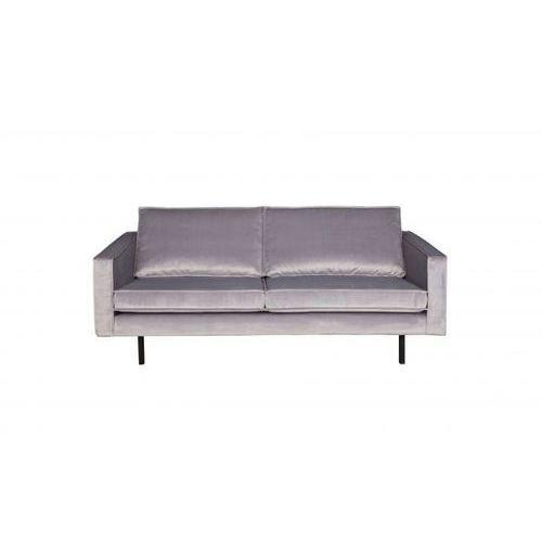 Be pure sofa rodeo 2,5-osobowa aksamitna jasnoszara 149 800542-l