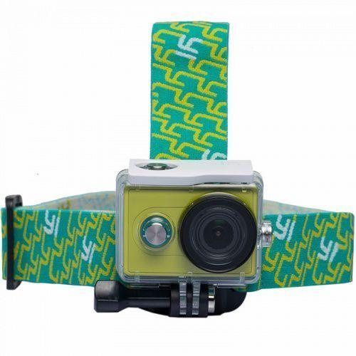 XiaoYi Uchwyt na głowę do kamery Xiaomi head mount zielony, xiaoyi_20180307110414