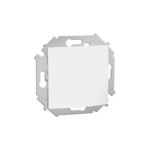 Przycisk pojedynczy zwierny bez piktogramu biały 1591150-030 SIMON15 (5902787547141)