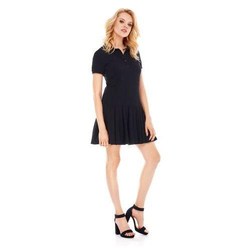 Sukienka Marina w kolorze czarnym, kolor czarny