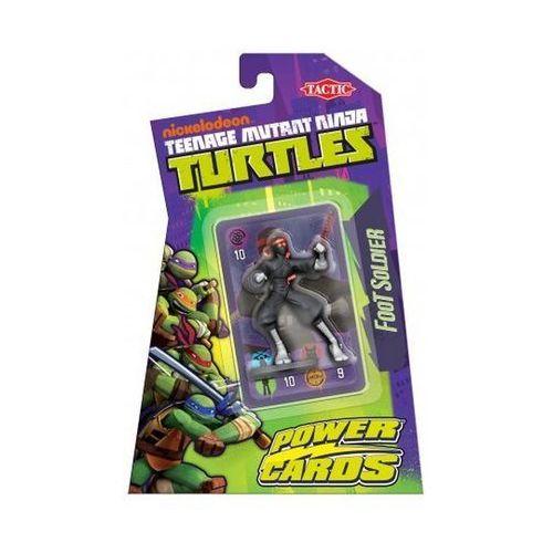 Żółwie ninja - gra head to head z figurką klanu stopy marki Tactic
