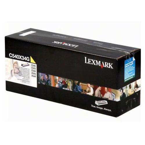 Zespół przenoszący (developer) Lexmark C540X34G yellow - KURIER UPS 14PLN, Paczkomaty, Poczta