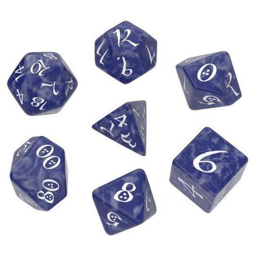 Komplet Kości Classic RPG Dice Set - Kobaltowo-biały