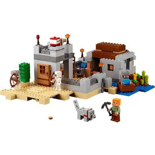 Lego MINECRAFT Minecraft the desert outpost 21121