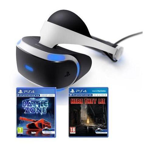Sony  playstation vr + 2 gry