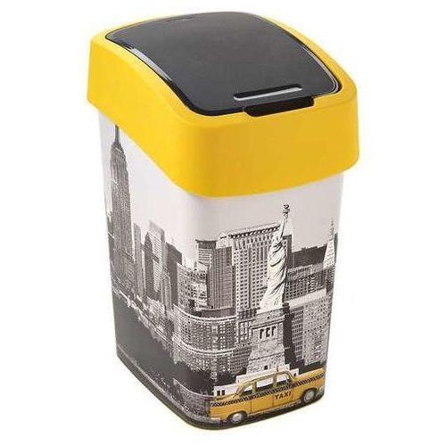 Curver Kosz na śmieci  flip bin iml 25l pokrywa - nowy york (3253922171199)