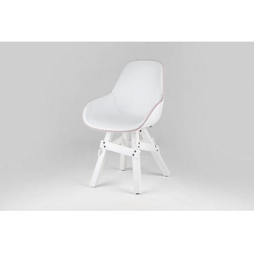 krzesło icon dimple pop skóra icondimplepop-leather marki Kubikoff
