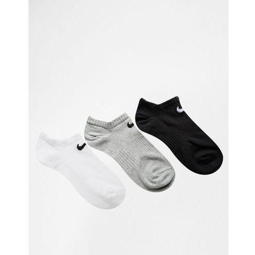 Nike 3 Pack Lightweight No Show Socks - Multi