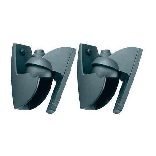 Uchwyt ścienny na głośniki Vogel´s VLB 500 VLB 500, Uchylny, Przenośny, 5 kg, czarny, 1 par(a)