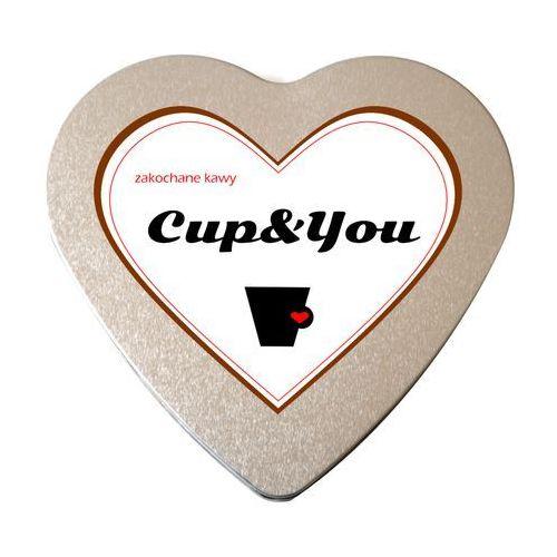 Zakochane kawy serce saszetki 10g - zestaw kaw na prezent upominek marki Cup&you cup and you