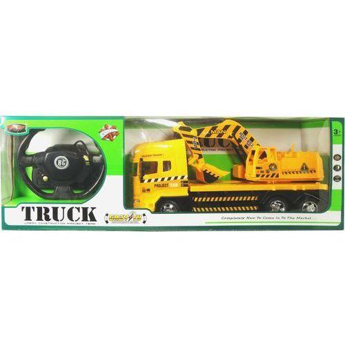 Swede Zabawka  ciężarówka koparka sterowana pilotem q1522 + darmowy transport! (5902496109586)