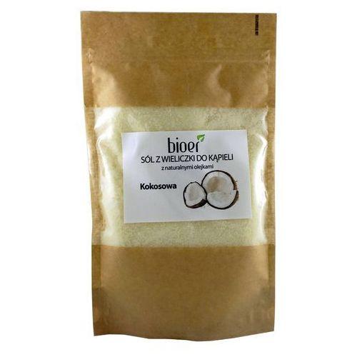 Sól z wieliczki z minerałami i olejkami - kokosowa - 500g -  marki Bioer