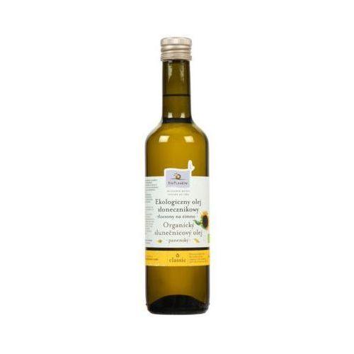 500ml ekologiczny olej słonecznikowy tłoczony na zimno bio marki Bio planete