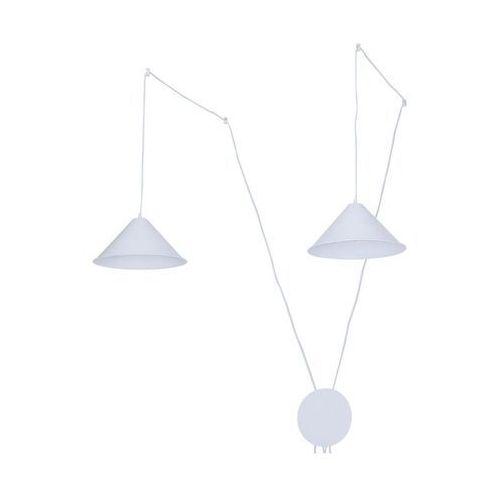 Inspire Lampa wisząca somerset biała ruchoma e27 (3276005955769)