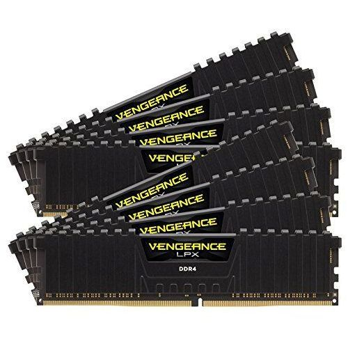 Corsair cmk128gx4 m8b3000 °C16 Memory D4 3000 °C15 VEN K8 venglpx pamięć robocza z wentylatorem (128GB, 1,4 V) (0843591084307)