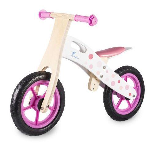 Indiana Rowerek biegowy drewniany różowy + zamów z dostawą jutro! + darmowy transport!
