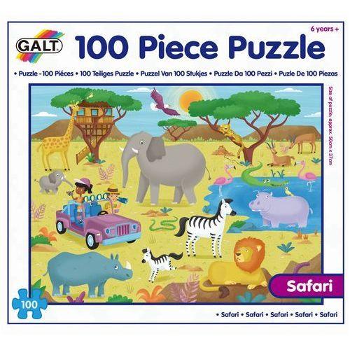 Galt puzzle safari, 100 el.
