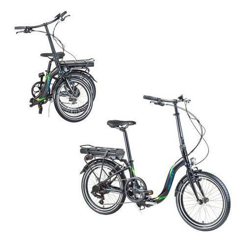 """Składany rower elektryczny Devron 20122 20"""" - model 2017, Żółty (8596084069573)"""