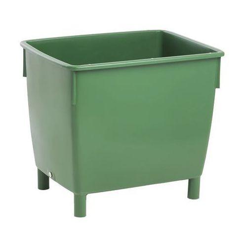 Craemer Pojemnik prostokątny, zbiornik na wodę, pojemność: 400 l, zielony. z listwami wz