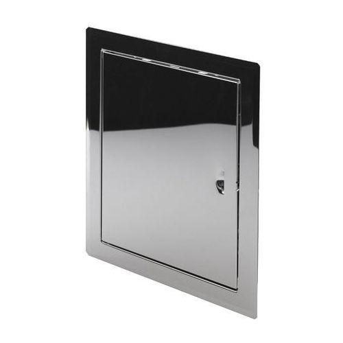 Awenta Drzwiczki metalowe nierdzewne 15 x 20 cm (5903263991953)