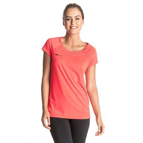 ROXY koszulka sportowa Risingrun Tee J Granatina M, kolor niebieski
