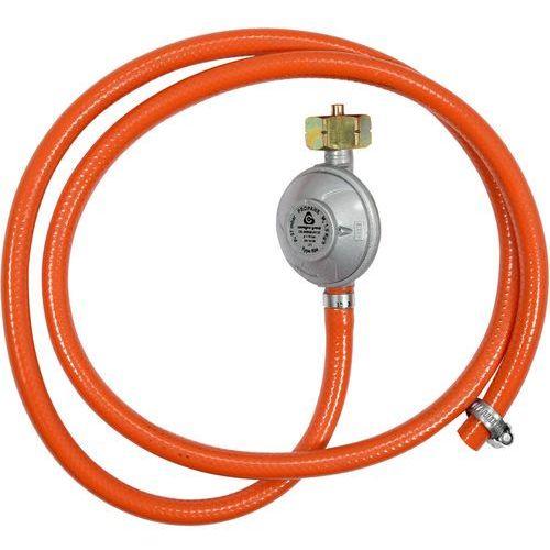 Reduktor gazowy z wężem 1,5m do podłączenia butli gazowej z grillem, kuchenką, piecykiem itp. 99671 - zyskaj rabat 30 zł marki Vorel