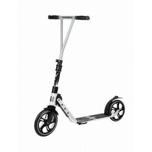 Hulajnoga HUDORA Big Wheel 205 RX Pro limitowana czarna 100 kg XXL SKŁADANA, 14825