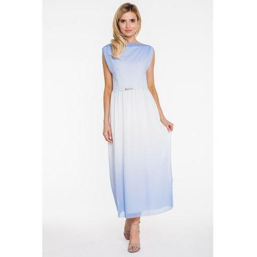 Cieniowana sukienka w długości maxi - Vito Vergelis