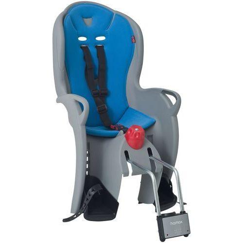 Hamax Fotelik rowerowy sleepy szary, niebieska wyściółka