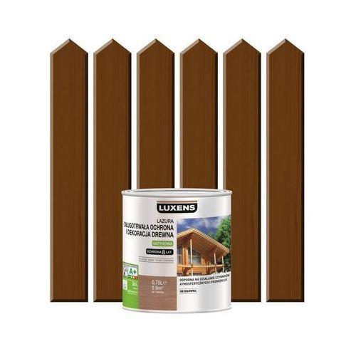 Luxens Lazura do drewna długotrwała ochrona i dekoracja drewna 0,75 lorzech ciemny (3276006109710)