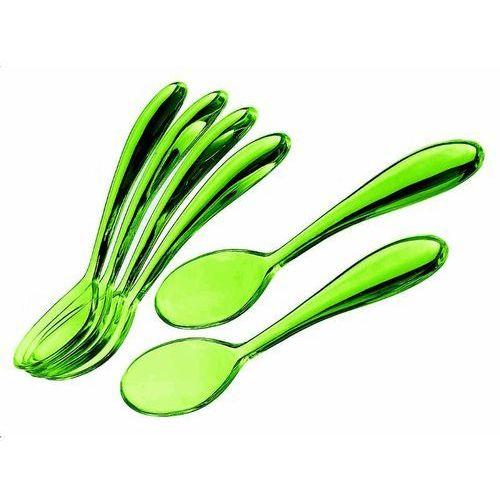 Guzzini - komplet 6 łyżeczek 14,5 cm - Art & Cafe - zielone - zielone