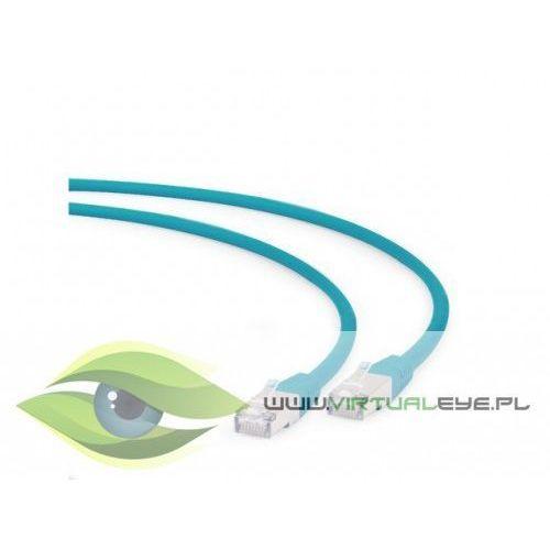 Patch cord kat.6a s/ftp lszh 1.5m zielony marki Gembird