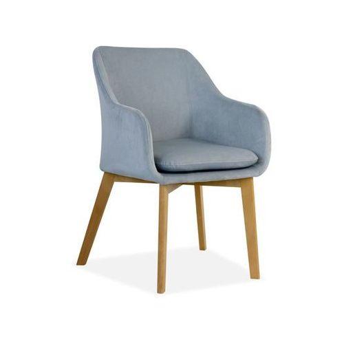 """Krzesło """"DREAM"""" jasno szare, kolor szary"""